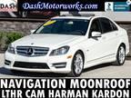 2012 Mercedes-Benz C250 Sport Sedan Navigation Camera Moonroof Leather Harman