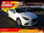 2015 Mazda MAZDA 3 White, 167K miles