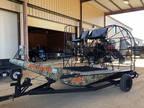 2012 Air Ranger 18' air boat