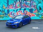 2015 Subaru WRX Blue, 66K miles
