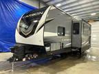 2020 Keystone Carbon 34 Toy Hauler w 12\' Garage and Onan Generator 34ft