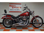 2007 Red Harley-Davidson FXSTD