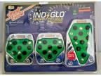 Street Glow 3 pc Neon Green Sport Pedal Kit Brake Clutch Gas