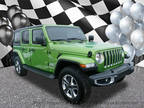 2019 Green Jeep Wrangler Unlimited