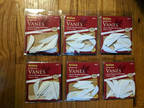"Allen 2"" White Super-Flex Vanes #68507 ~ 12 Pk."