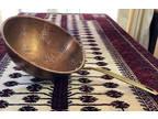 Vintage Solid Copper KOREA Sieve Colander Strainer Cookware