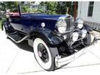 1932 Packard Super Eight Packard Blue Manual