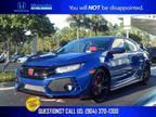 2019 Honda Civic Blue, new