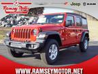 2020 Jeep Wrangler Unlimited Red, 11 miles