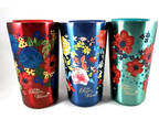 3-Pack Pioneer Woman Vacuum Insulated Tumblers 18oz Lot