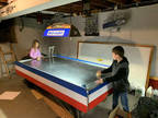 Air Hockey table - Vintage, early 80's