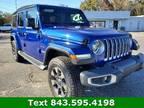 2018 Jeep Wrangler Unlimited Blue, 3K miles