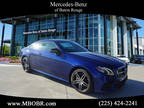2020 Mercedes-Benz E Class Blue, 11 miles