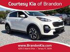 2020 Kia Sportage White, new