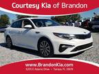 2019 Kia Optima White, 3K miles
