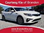 2019 Kia Optima White, 4K miles