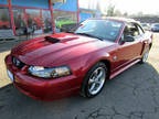 2004 Ford Mustang 2dr CONVERTIBLE GT Deluxe RED 110K LOOKS NEW WOW!