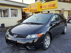 2008 Black Honda Civic Coupe