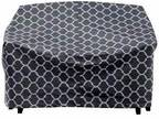 """Trellis Pattern Quilted Glider Cover, 78"""" L x 33"""" H x 37"""" W"""
