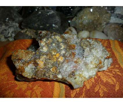 Beautiful Fully Polished Fire Agate Opal Crystal Cluster is a Blue, Green, Orange Collectibles for Sale in New York NY