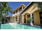 Key West 4 BR 5 BA, An Italian villa on a hill.Situated in