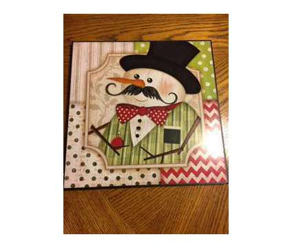 Snowman Wall Hanging is a Used Everything Else for Sale in Wescosville PA