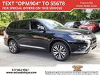 2019 Mitsubishi Outlander Black, new