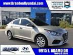 2018 Hyundai Accent White, 44K miles