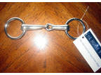 Snaffle Bit for Ponies Loose ring solid stainless steel.