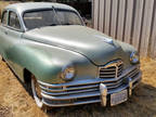 1948 Packard Deluxe Eight 1948 PACKARD DELUXE 8 SEDAN SERIES