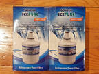 2 count Golden Ice Pure RWF1100A Refrigerator Water Filter
