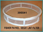 Fisher Paykel Degx1 Dryer Lint Filter--Excellent
