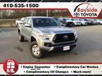 2020 Toyota Tacoma Silver, new