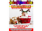 Holiday HAIRCUTS 4 Kids [phone removed]