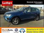 2016 Volkswagen Touareg Blue, 1879 miles