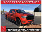 2020 RAM 1500 Red, 11 miles