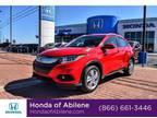 2019 Honda HR-V Red, 10 miles