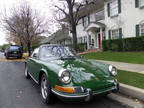 1970 PORSCHE 911T Irish Green/Black