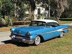 1957 Pontiac Star Chief Hardtop Custom Catalina Blue