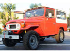 1978 Toyota Land Cruiser FJ Manual Red