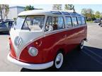 1961 Volkswagen Bus Vanagon Dexlue 23 Windows