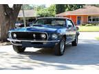 1969 Ford Mustang GT 390 ci Convertible Blue
