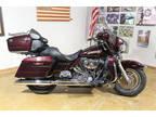 2007 BLACK CHERRY Harley-Davidson ELECTRA GLIDE CLASSIC FLHTC