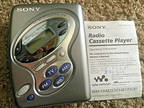 Sony Walkman Cassette Tape FM/AM Player WM-FX281 Portable