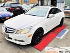 2012 Mercedes-Benz E350 Coupe E 350 White, Sport Premium