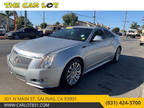2011 Radiant Silver Metallic Cadillac CTS Coupe