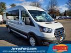 2020 Ford Transit-350 White, 14 miles