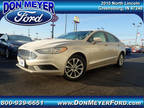 2017 Ford Fusion Gold, 19K miles