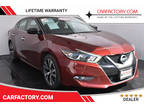 2016 Coulis Red Nissan Maxima