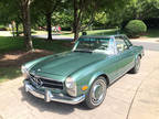 1969 Green Mercedes-Benz 280SL
